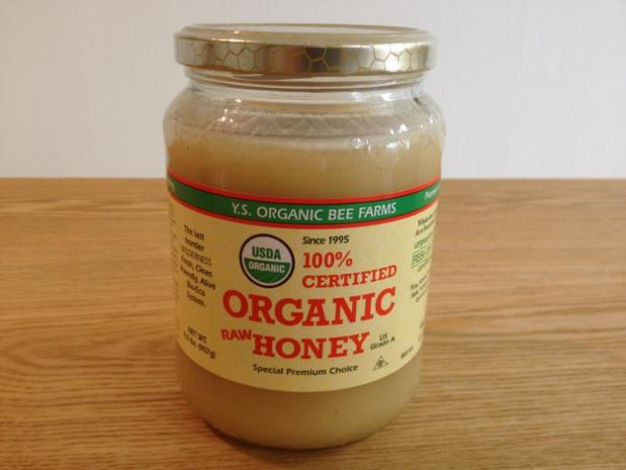 Y.S. Eco Bee Farms, 100% Certified Organic Raw Honey, 2.0 lbs (907 g)