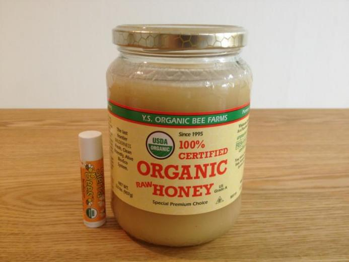 Y.S. Eco Bee Farms, 100% Certified Organic Raw Honey, 2.0 lbs (907 g)_1
