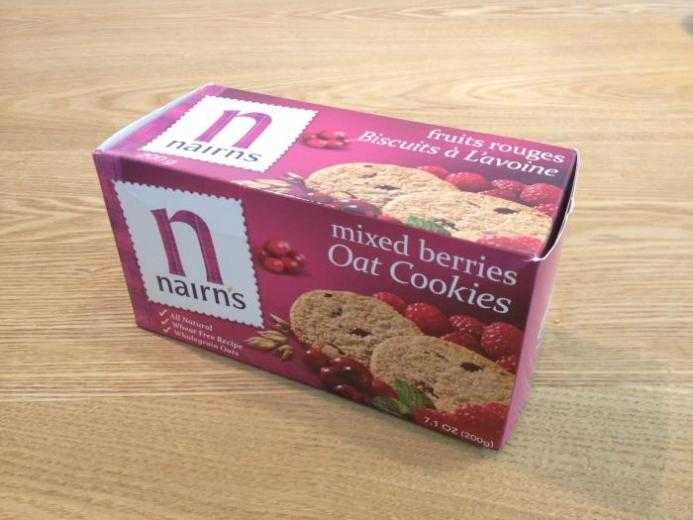 Nairn's Inc, Oat Cookies, Mixed Berries, 7.1 oz (200 g) $3.98