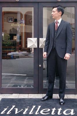 Fresco(フレスコ)素材のスーツ ...