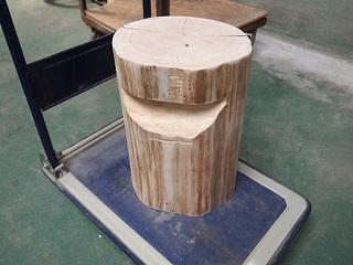 20130322上畑木工スツール