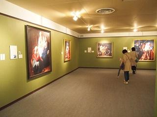 20130402フェルメール光の王国展会場