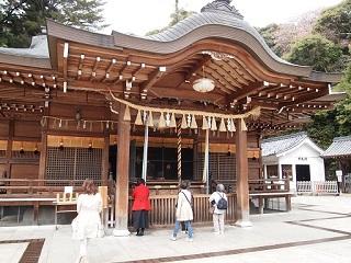 20130410清荒神拝殿
