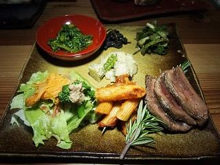 20130411三心五観メイン料理