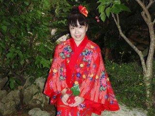 2010直美・琉球衣装直美
