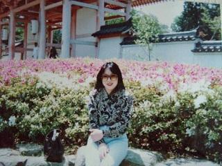 2010直美・長谷寺微笑