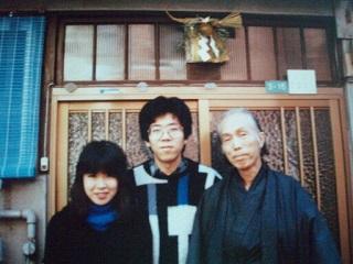 2010直美・父と一緒に正月