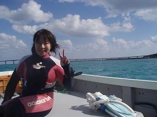 20071022コーラルボート直美