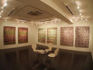 20130211原画展抽象画スペース
