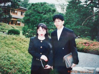 2010直美・謙三さん結婚式二人