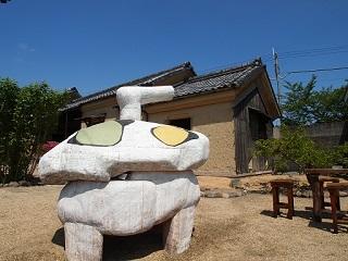 20130503八木亭庭の彫刻