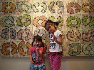 20130512月の庭指人形完成姉妹