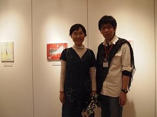 20130512月の庭東野さんと恒明