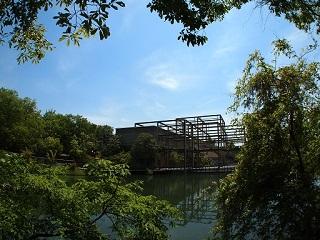 20130513月の庭ギャラリー棟