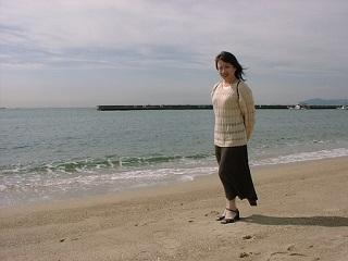 須磨海岸・直美