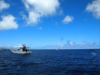 20130701伊良部ダイビング船