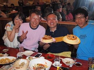 20130707打ち上げ会記念ケーキ