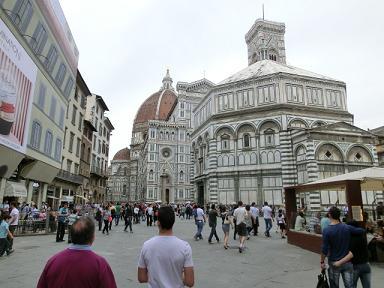 フィレンツェ ドゥオモ広場1