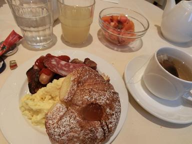 フィレンツェ朝食3