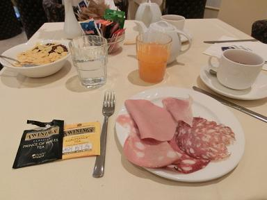 5日目フィレンツェ朝食