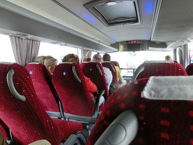 フィレンツェ→シエナのバス1