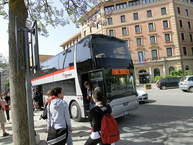 フィレンツェ→シエナのバス2