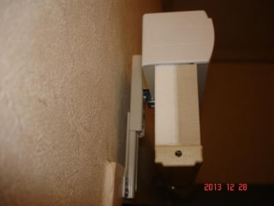 ルーセントホーム シェルシェード25mmセミオパーク スプリンググリーン色PLS210-013コードレス式