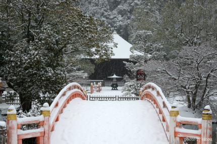 阿弥陀堂雪景色1