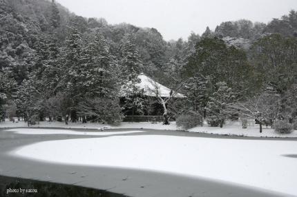 阿弥陀堂雪景色2