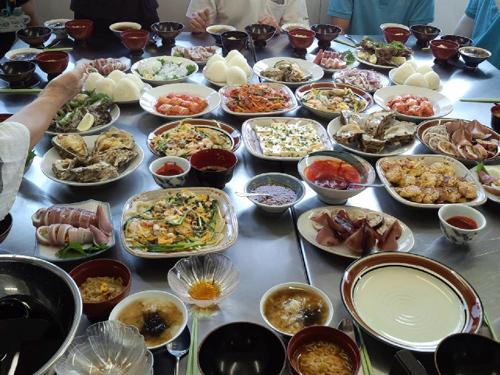 日韓料理交換会