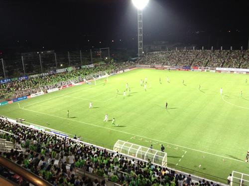 0821サッカー観戦
