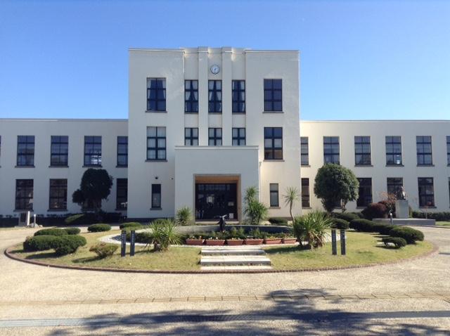 そして、豊郷小学校旧校舎群へ。