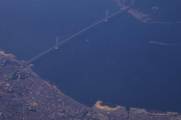 明石海峡大橋空撮