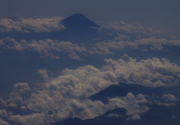 南アルプスと富士山