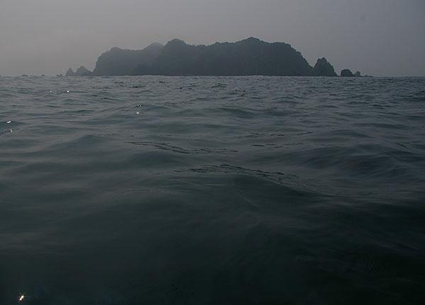 三貫島遠望