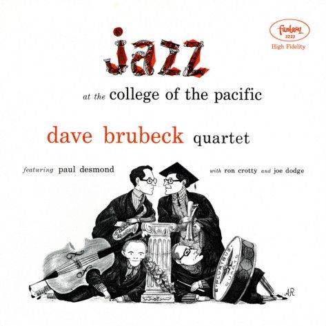 Jazz At College Of The Pacific Dave Brubeck Quartet