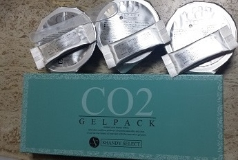 CO2 ジェルパック