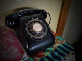 黒電話(ぼかし済み)