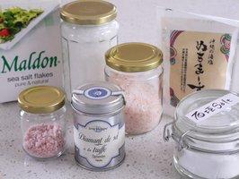 Sakura-salt & my salt collection