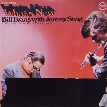 Bill Evans Jeremy Steig Whats New Verve V6-8777