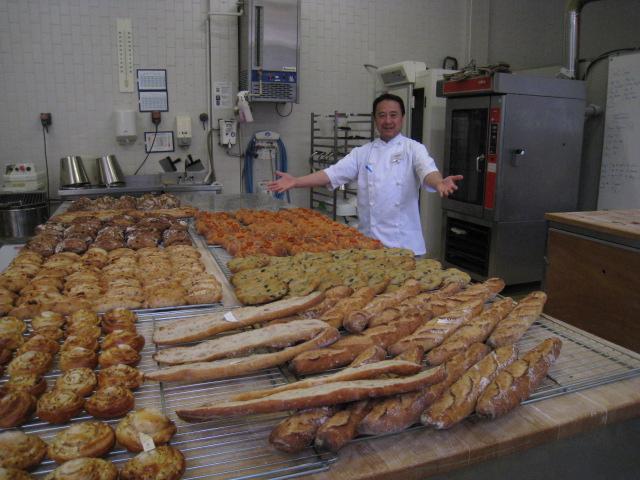 パリ研修パン
