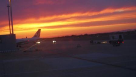 ローマの夕焼け