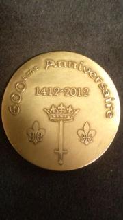 ジャンヌの記念メダル裏
