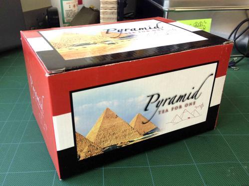 ピラミッド型ティーポッド1