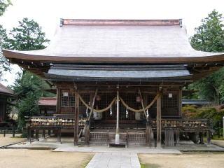 出石神社拝殿