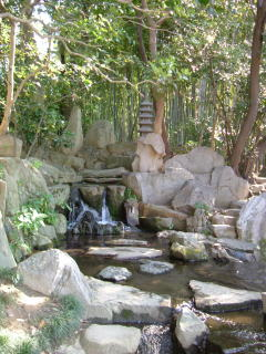 岡山後楽園花葉の池