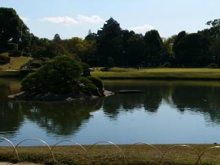岡山後楽園沢の池