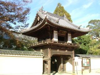 西大寺鐘楼門