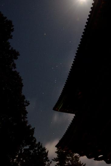 南大門と三つ星
