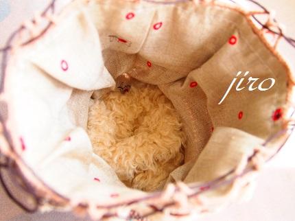 ビーズ編み巾着-softly.4